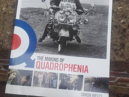 "New book out soon, Simon Wells ""The Making of Quadrophenia"" - Being film included."