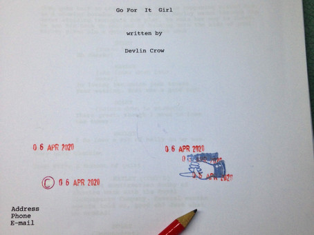 GO FOR IT GIRL - FEATURE SCREENPLAY COMPLETED