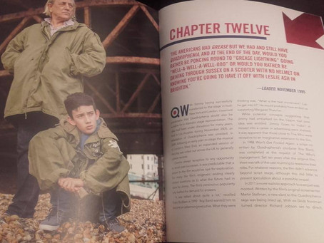 "sneak peek of Being pages in ""Making of Quadrophenia"" - by Simon Wells"