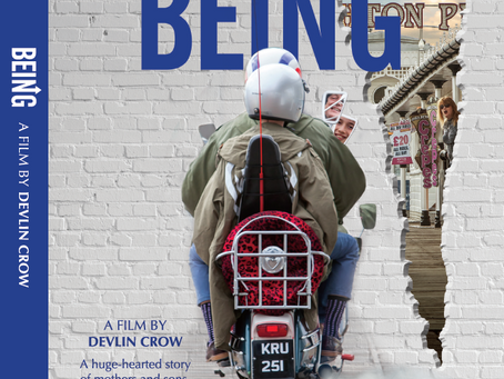 New Being Blu-ray packaging