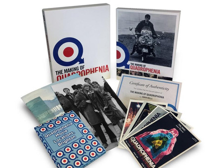 """Being gets a lot of coverage in """"The Making of Quadrophenia"""" by Simon Wells"""