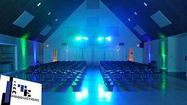 Wedding Lighting, Sound, & Set Design