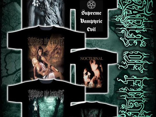 CRADLE OF FILTH old skool designs now available!