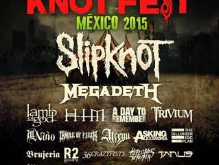 Cradle of Filth to play at Knotfest Mexico 2015!
