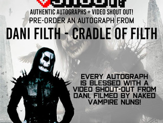 Dani Filth is now on VSShout!