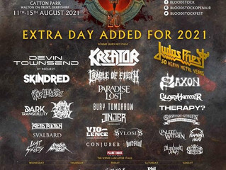 Cradle of Filth announced for Bloodstock 2021!