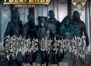Cradle of Filth to play With Full Force Summer Open Air