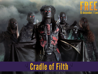 Cradle of Filth confirmed for Freeze Festival!