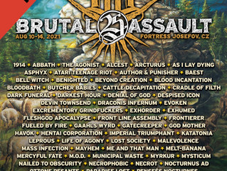 Cradle of Filth confirmed for Brutal Assault 2021