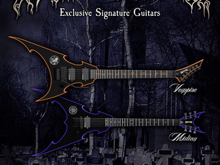 Cradle of Filth team up with Vorona Guitars
