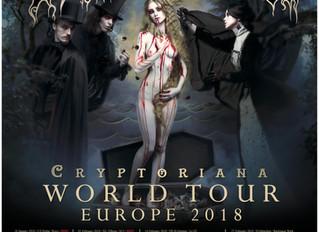 Dani Filth's Tour Blog - Part 1