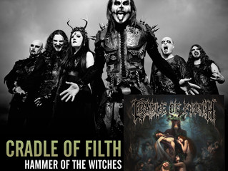 CRADLE OF FILTH Reveal the track listing, formats and pre-order info for forthcoming album 'Hamm