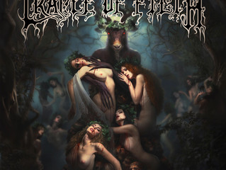 CRADLE OF FILTH Unveil the Cover Artwork for Forthcoming Album 'Hammer of The Witches'.