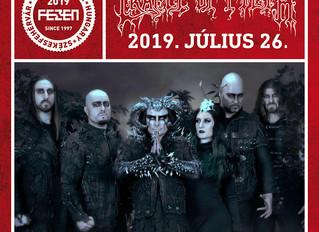 Cradle of Filth confirmed for Fezen Festival 2019!
