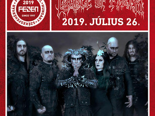 Cradle of Filth confirmed for Fezen Festival 2019!