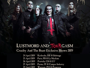 Lustmord and Tourgasm 2019