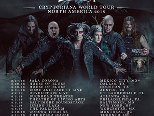 Cradle of Filth to return to America!