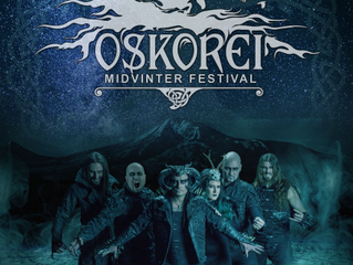 Cradle of Filth confirmed to play at Oskorei Midvinter Festival!