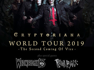 Cradle of Filth to return to the US in 2019!