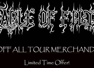 U.S. Store, Tour Merch Sale