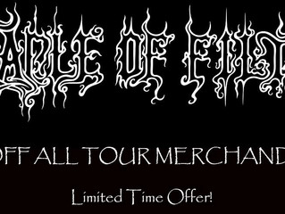 U.S. Store, Tour Merch Sale