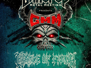 Cradle of Filth confirmed for Graspop Metal Meeting 2019!