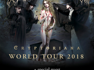 Cradle of Filth are coming to Lithuania!