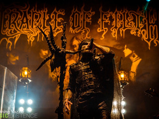 Dani Filth - Tour Blog