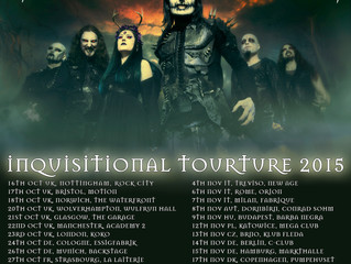 "CRADLE OF FILTH - announce ""Inquisitional Tourture"" dates this October/November!"