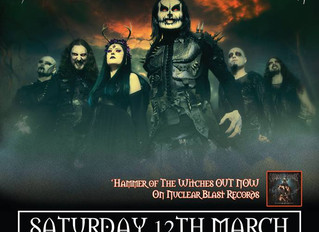 Cradle of Filth are coming to Chester!