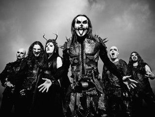 CRADLE OF FILTH   BAND PREMIERES OFFICIAL VIDEO FOR 'RIGHT WING OF THE GARDEN TRIPTYCH'