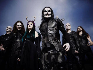 CRADLE OF FILTH Announce a special festival warm-up show
