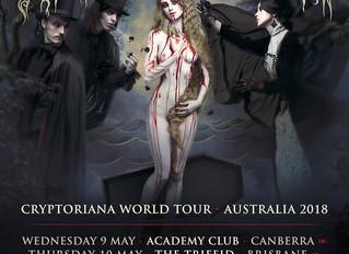 Cradle of Filth Announce Australian Tour Dates!