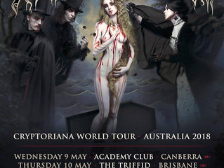 Cradle of Filth Announce Australian Tour Dates!