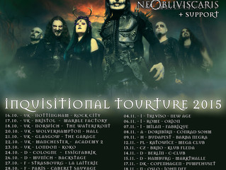 Finnish Date added and Support Band Announced!