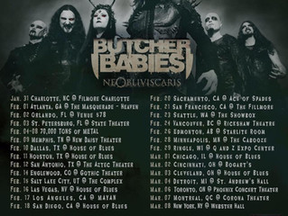 CRADLE OF FILTH ARE ON THEIR WAY TO SEE ALL THEIR US FANS!!