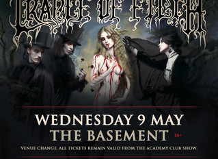 Canberra Venue Change