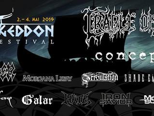 Cradle of Filth confirmed forKarmøygeddon Metal Festival