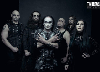 Cradle of Filth confirmed for South America