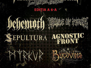 Cradle of Filth to play at Romania's Metalhead Meeting