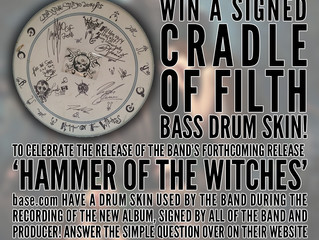 WIN a signed drum skin with base.com!