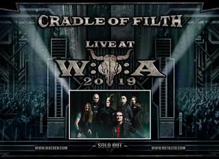 Cradle of Filth confirmed for Wacken Open Air!