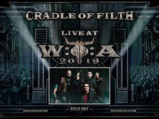 Cradle of Filth confirmed for Wacken Open Air!