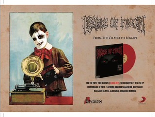 'From The Cradle To Enslave' Vinyl Release.