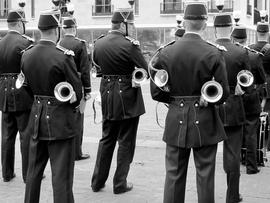 Les pots d'échappements de la Garde Nationale