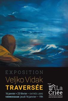 Traversée, l'exposition de Veljko Vidak