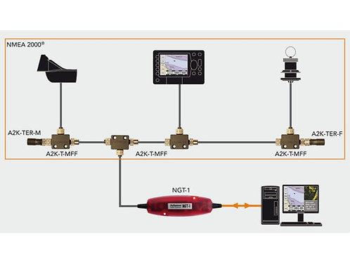 NMEA0183 naar NMEA2000 gateway met AIS mogelijkheden