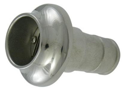Spiegeldoorvoer RVS - 40 mm
