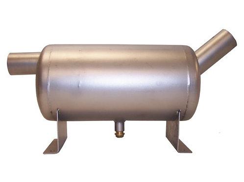 Waterlock gepolijst RVS in/uitlaat diameter: Ø40 - Ø45 - Ø50