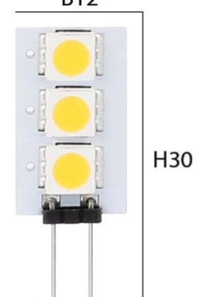 G4 LED lamp 12 Volt 0,6 Watt